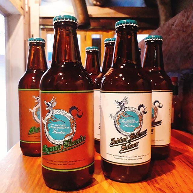 きょうのクラフトリクエストがあった志賀高原、やっと入りました.志賀高原ビールインディアサマーセゾン志賀高原ビールミヤマブロンド超数量限定なので飲みたい方はお早めに!!!.きょうはアヤです